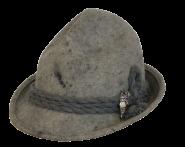 Schladminger Hut mit Abzeichen