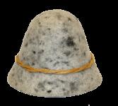 Geishut - grau meliert