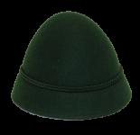 Geishut - dunkelgrün für kids