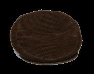 Cordkappe - braun