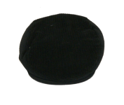 Cordkappe - schwarz