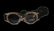 Gletscherbrille - braun