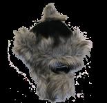Eskimohaube schwarz