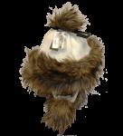 Eskimohaube - braun